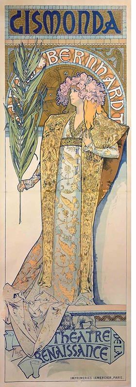 Featured image is reproduced from 'Alphonse Mucha.'