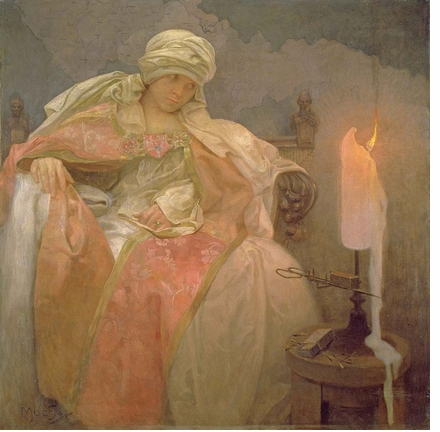Alphonse Mucha was both the 'greatest decorative artist in the world' and a humanitarian philosopher