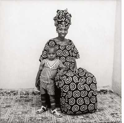 Always someone under the neon lights… Malick Sidibé: Mali Twist