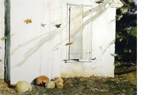 "Featured image, ""Home Grown"" (1974) © Andrew Wyeth, is reproduced from <I>Andrew Wyeth: Looking Out, Looking In</I>."