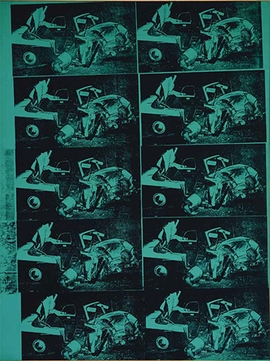 Andy Warhol Green Disaster 2 Ten Times