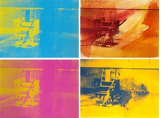 Andy Warhol: Prints, Electric Chair