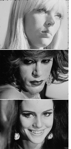 Featured images are reproduced from 'Andy Warhol: The Chelsea Girls.'