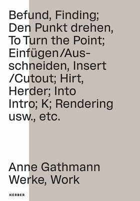 Anne Gathmann: Works