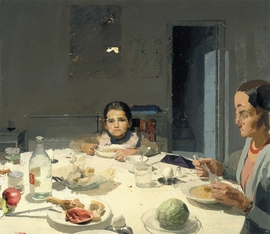 "Featured image, <i>La cena</i>, (The Dinner), painted by López García between 1971-1980, is reproduced from DAP's <a href=""http://www.artbook.com/9781935202653.html"">Antonio López García: Paintings and Sculpture</a>."
