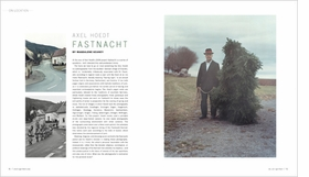 Featured image is a spread from Aperture 201 of Magdalene Keaney's article on Axel Hoedt's <i>Fastnacht</i> photographs, which capture the age-old Lenten tradition of Fastnacht that continues—in full regalia—in Germany's southern villages.