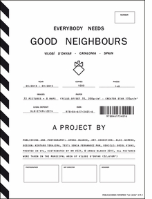 Aranau Blanch: Everybody Needs Good Neighbours