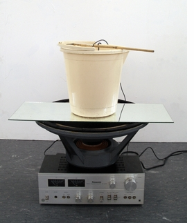 """Lo-Tech Proposed"" (2006-14) by Haroon Mirza is reproduced from <b><a href=""9788887029567.html"" target='new'>Art or Sound</a></b>."