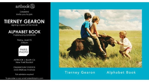 ARTBOOK Book Signings at Paris Photo, Friday, April 25