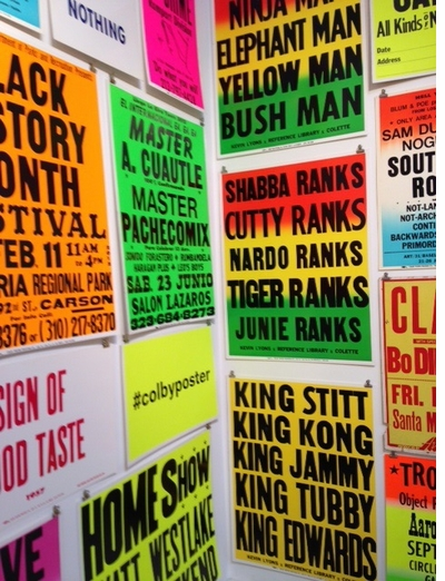 ARTBOOK   D.A.P. Presents an Exhibition of Colby Printing Company Posters for the NYABF