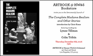 ARTBOOK @ Hauser Wirth & Schimmel Presents Lynne Tillman, Colm Tóibín and Chris Kraus
