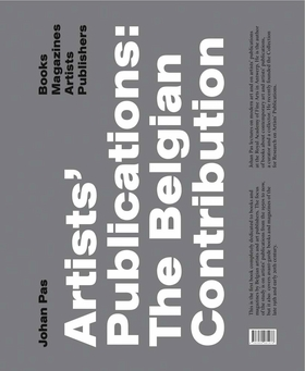 Artists' Publications: The Belgian Contribution