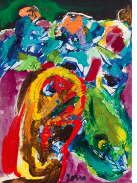 """Untitled"" (1968) is reproduced from 'Asger Jorn: The Open Hide.'"
