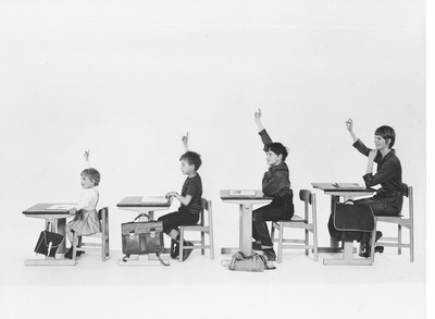 Børge Mogensen and Esben Klint school furniture 1962
