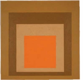 "Featured image, of Josef Albers' ""Homage to the Square: On Dry Ground"" (1963), is reproduced from <I>Behold, America!</I>."