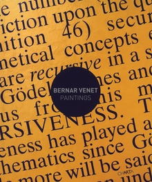 Bernar Venet: Paintings