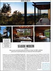 Bestseller Cape Cod Modern Featured in 'Conde Nast Traveler' and 'Elle Decor'