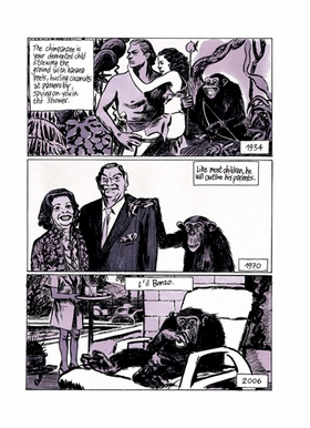 Featured image is reproduced from <I>Blutch: So Long, Silver Screen</I>.