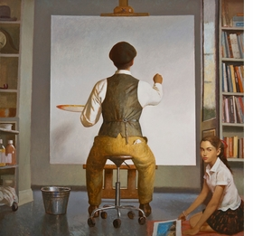 "Featured image is <I>A New Beginning</I> (2008), reproduced from <a href=""9780578061221.html"">Bo Bartlett: Paintings 1981-2010</a>."