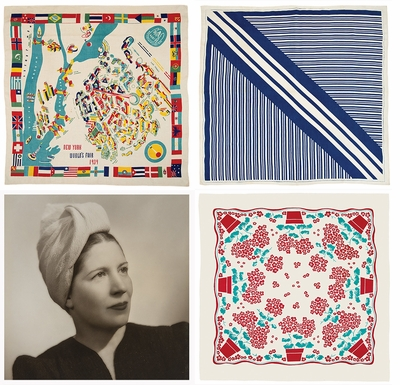 Bold, dashing color on the table: 'Marguerita Mergentime: American Textiles, Modern Ideas'