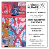 Brian Blomerth's 'XAK'S WAX' zine launch at MoMA PS1 Book Space