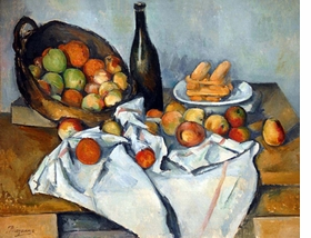 Featured image, a still life by Paul Cézanne, is reproduced from <I>Cézanne and Paris</I>.