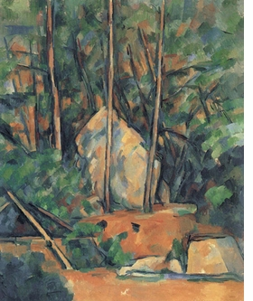 "Featured image, ""La Citerne dans le parc du Château Noir"" (1900), is reproduced from <I>Cézanne: Landscape into Art</I>."