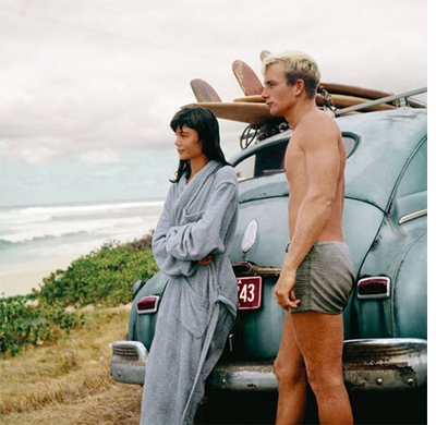 California Surfing and Climbing in the Fifties, Wendy Wagner and Tom Carlin Kaena Point