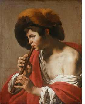 Featured image is reproduced from 'Caravaggio and the Painters of the North.'