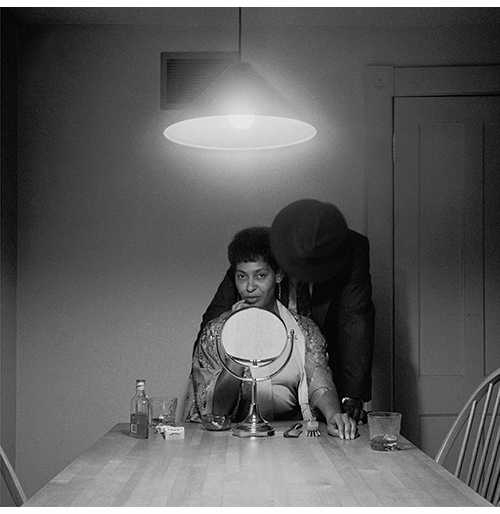 Carrie Mae Weems signing at the National Gallery of Art