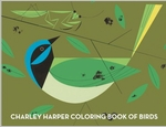 Charlie Harper: Coloring Books of Birds