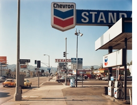 "Featured photograph, ""Beverly Boulevard and La Brea Avenue, Los Angeles, California, June 21, 1975,"" by Stephen Shore, is reproduced from <I>Color Rush</I>."