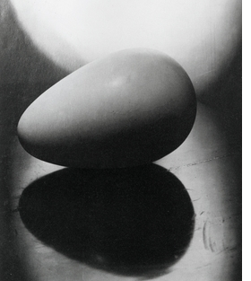 "Featured image, Constantin Brancusi's <i>Le commencement du monde (Beginning of the World)</i>, ca. 1920, is reproduced from <a href=""9783775728218.html"">Constantin Brancusi & Richard Serra: Resting In Time and Space</a>."