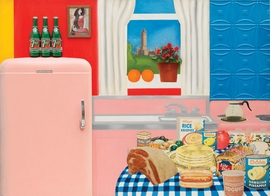 "Featured image is Tom Wesselmann's <i>Still Live #30</i>, reproduced from <a href=""9780870708084.html"">Counter Space: Design and the Modern Kitchen</a>."