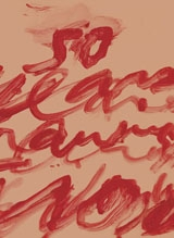 Cy Twombly: Fifty Years Of Works On Paper