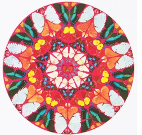 Featured image is reproduced from <I>Damien Hirst: The Complete Psalm Paintings</I>.
