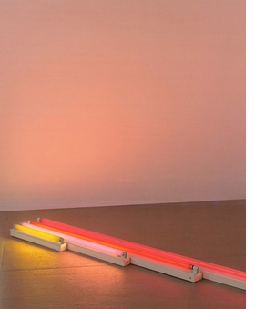 Featured image is reproduced from <I>Dan Flavin</I>.