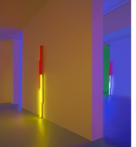 Featured image is reproduced from <i>Dan Flavin: Series and Progressions</i>.