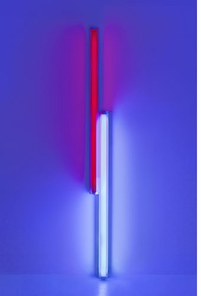Dan Flavin: Two Primary Series and One Secondary, 1968