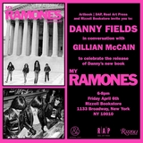 Danny Fields and Gillian McCain launch 'My Ramones' at Rizzoli