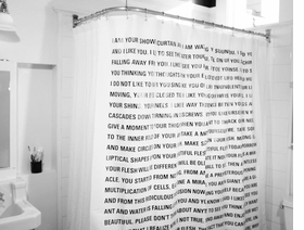 Dave Eggers Shower Curtain The Thing Issue 16 ARTBOOK
