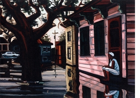 "Featured image is <i>The Garden District</i> by David Bates, reproduced from <a href=""9781891246203.html"">David Bates: The Katrina Paintings</a>."