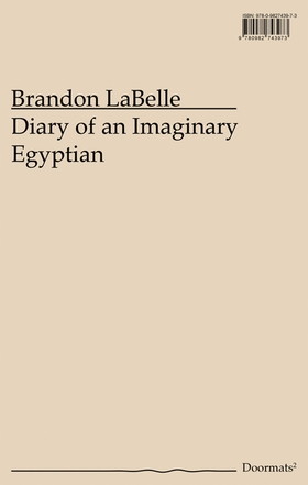 Diary of an Imaginary Egyptian