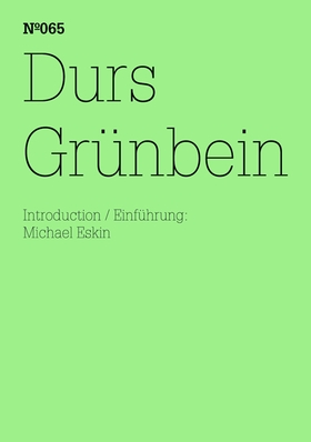 Durs Grünbein: Dream Index