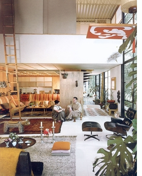 Featured image is reproduced from 'Eames Furniture Sourcebook.'