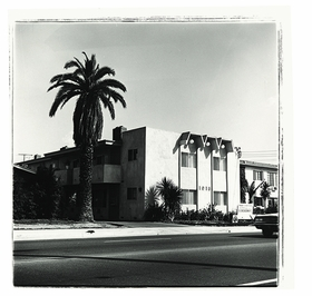 """Atlantic Boulevard,"" 1965, is reproduced from 'Ed Ruscha: Los Angeles Apartments.'"