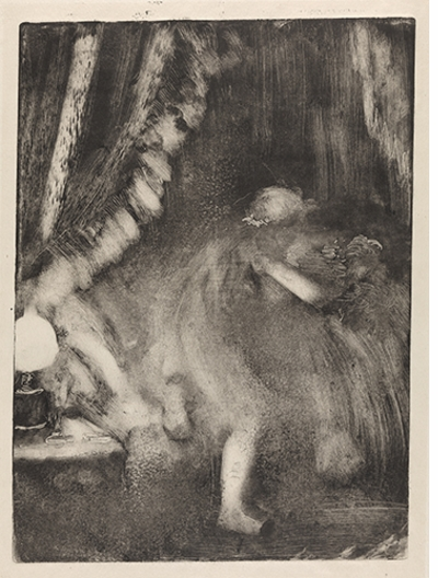 Edgar Degas: A Strange New Beauty, Getting into Bed