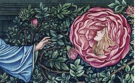 """Featured image is from the exquisite book <a href=""""9783775725170.html"""">Edward Burne-Jones: The Earthly Paradise</a>, published by Hatje Cantz."""