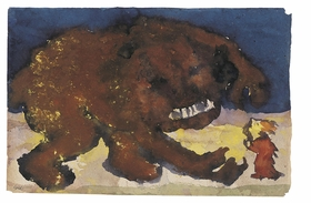 Featured image is reproduced from 'Emil Nolde: The Grotesques.