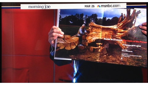 'Emilie Brzezinksi: The Lure of the Forest' Featured on 'Morning Joe'